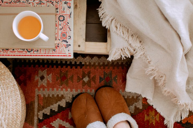 warmbat pantoffels